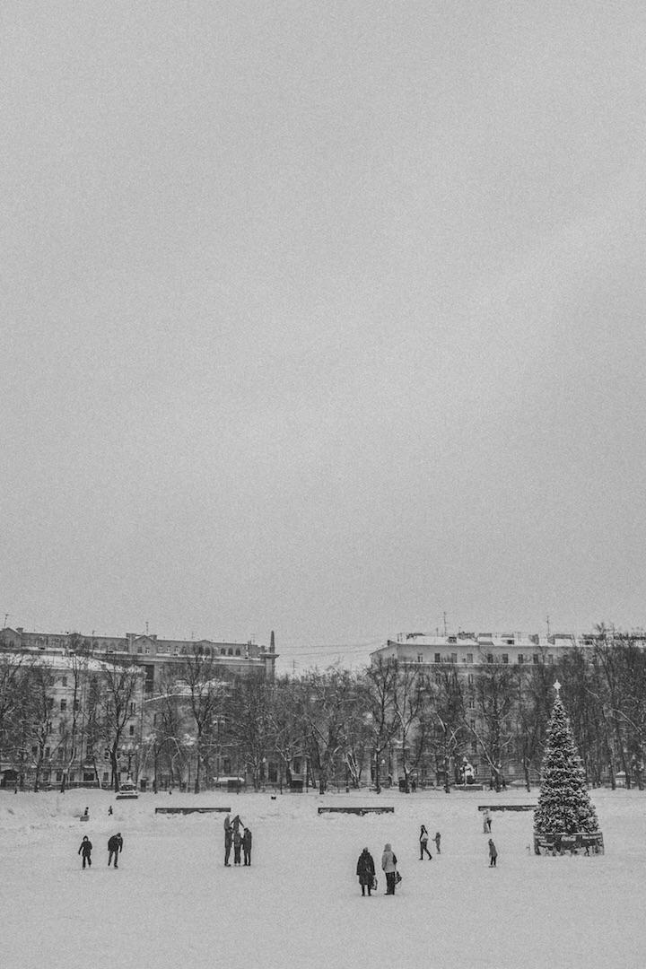 Patriarschie Ponds.Moscow