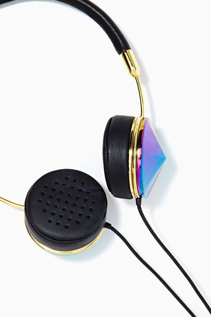 OIL SLICK LAYLA HEADPHONES // FRENDS