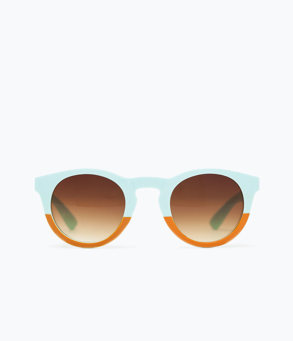 TWO TONE SUNGLASSES //