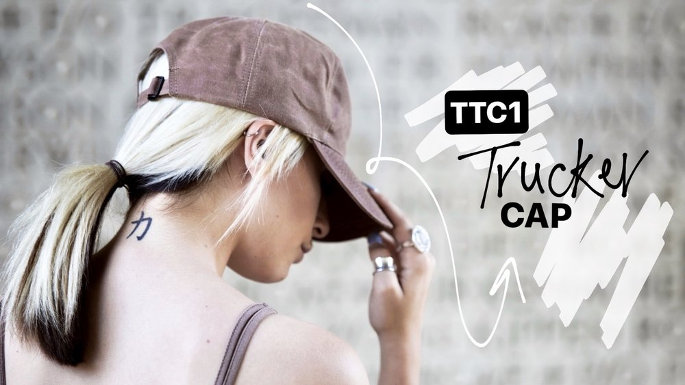 TTC1 TRUCKER CAP - BROWN