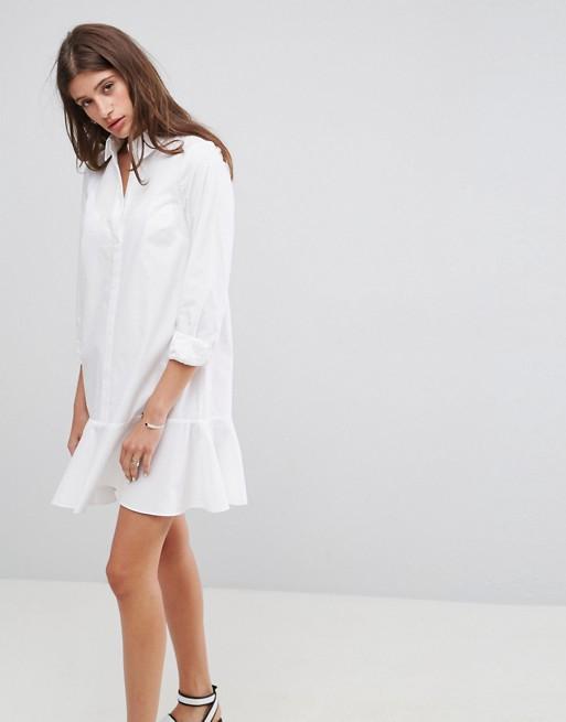 Similar - Shirt Dress With Pep Hem