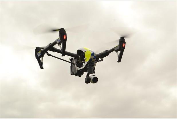 dji Inspire 1 police drone