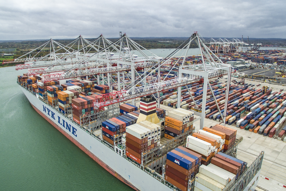 Aerial Photography Southampton Docks