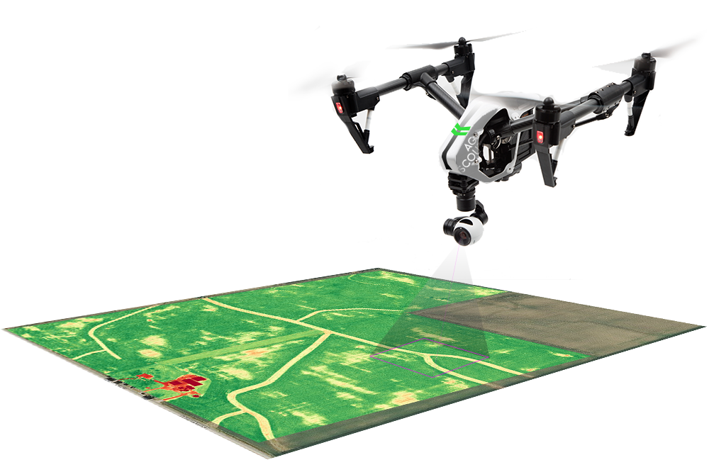 UAV drone mapping