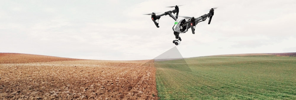 Aerial drone uav agricultural crop scouting mapping