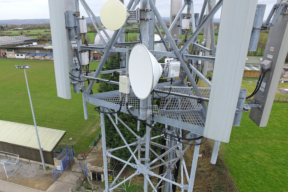 UAV Drone Cell Tower Inspection