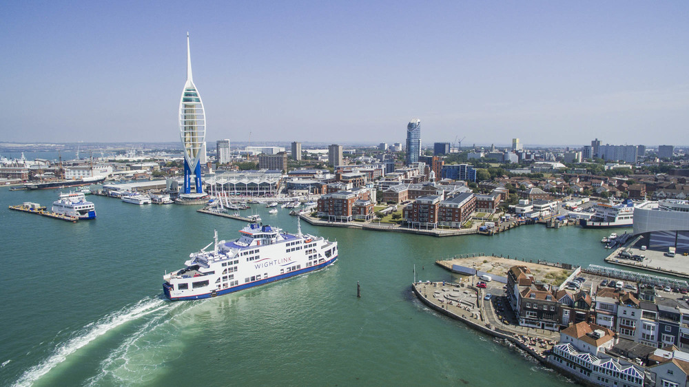 Aerial Drone Photography - Portsmouth Harbour