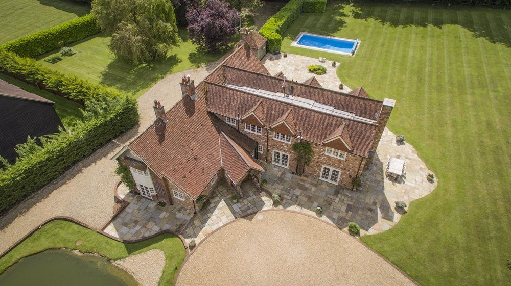 drone aerial property photography for estate agents