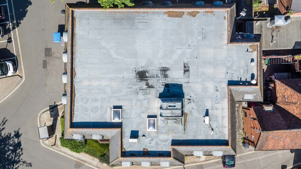 Drone building and roof surveys