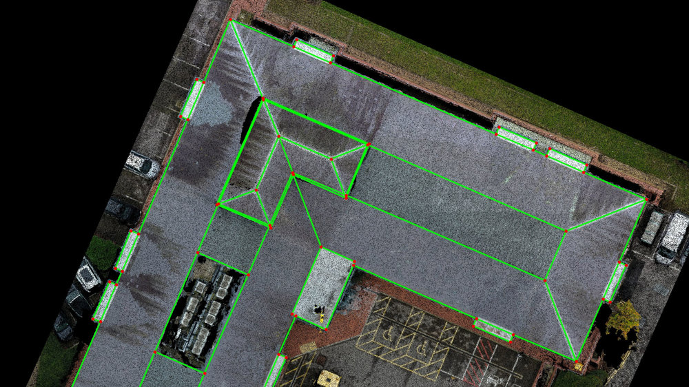 Drone Roof Survey Inspection Reporting - For detailed accurate measurements
