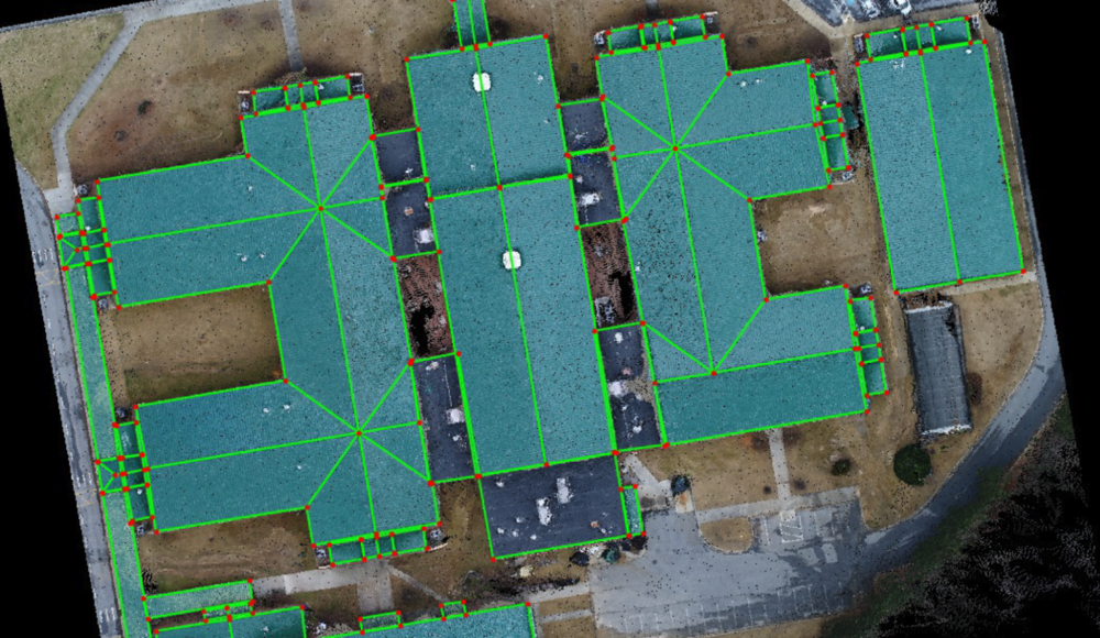 Drone Roof Survey Inspection Reports