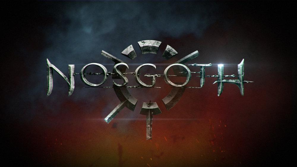 Nosgoth logo reveal style frames