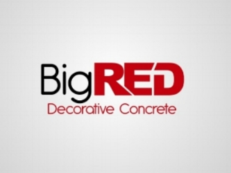 Big Red Decorative Concrete