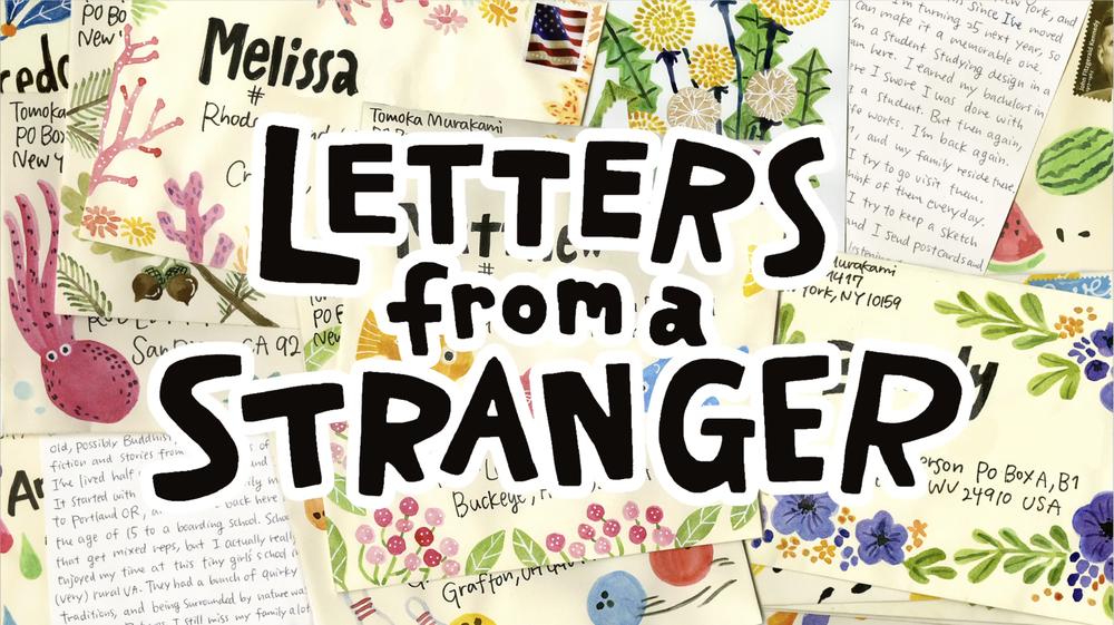 Letters From A Stranger Tomoka Murakami Works