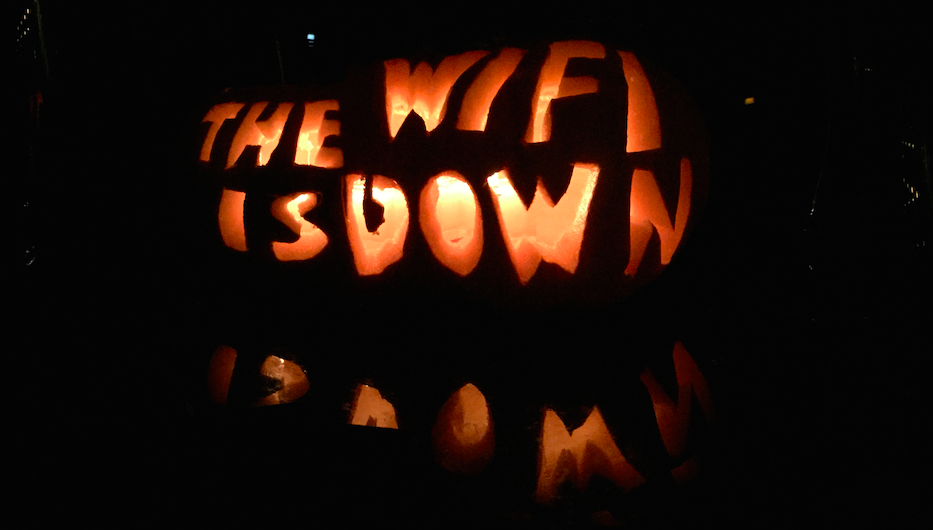 Our CEO carved this to terrify his teenage children!