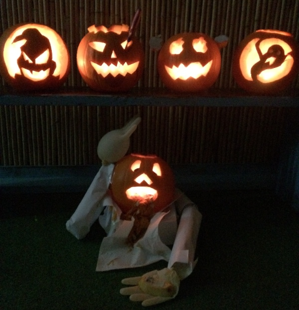 The babylon pumpkin carving competition!