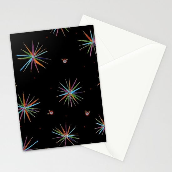 little star cards (x3)