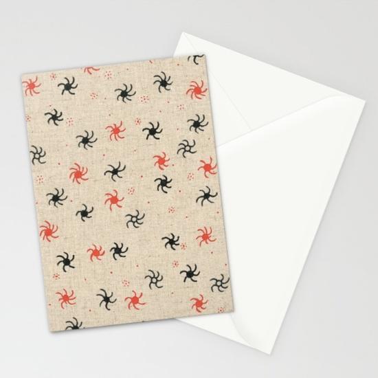 pinwheel cards (x3)