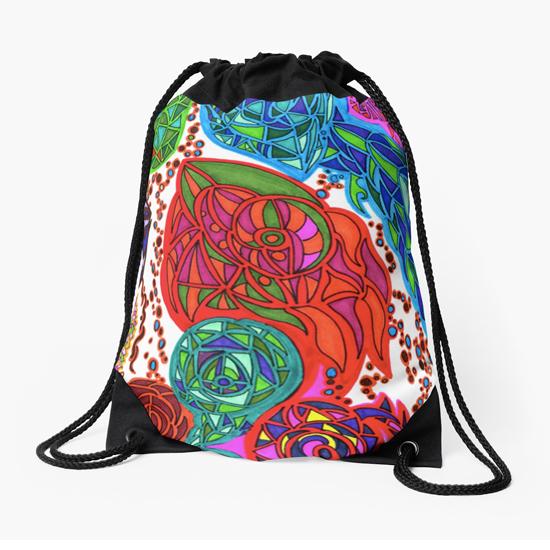 gaudi drawstring bag