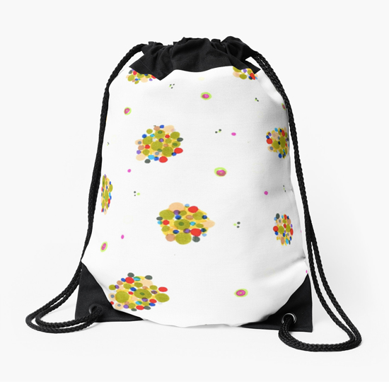 kiki drawstring bag