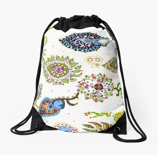 kon drawstring bag