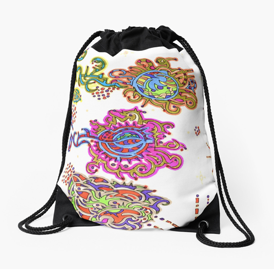 kurimi drawstring bag