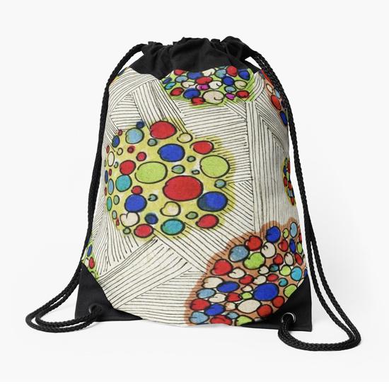naomi drawstring bag