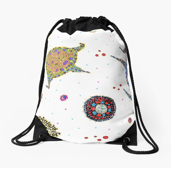 rozu drawstring bag