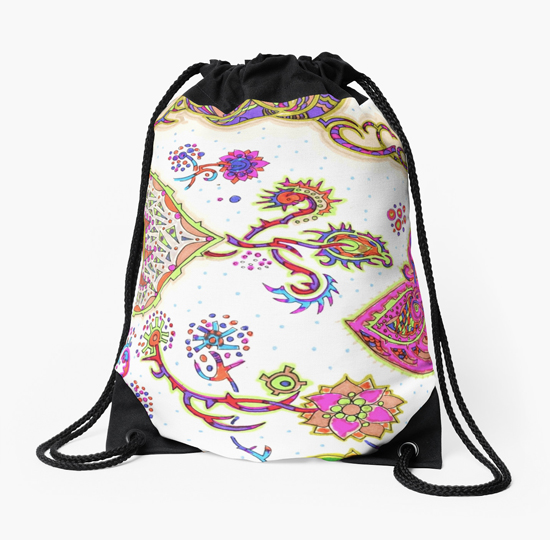 sukaretto drawstring bag