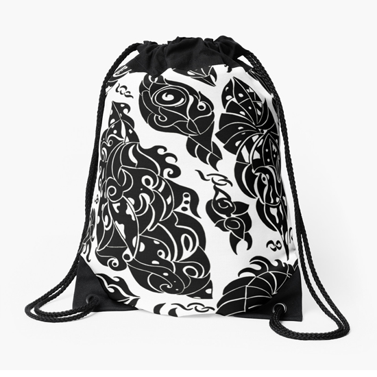 in sweden drawstring bag