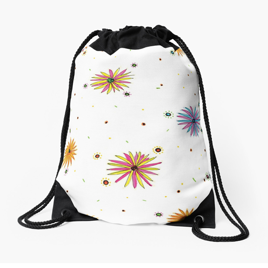 sydney summer drawstring bag
