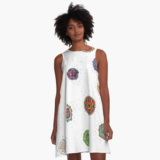snap dragon dress