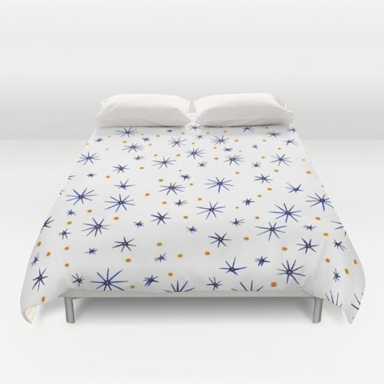 blue mattisse duvet cover