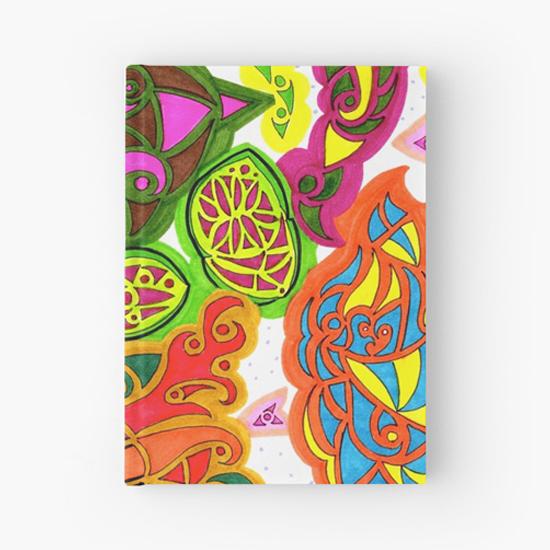 aubergine hardcover journal