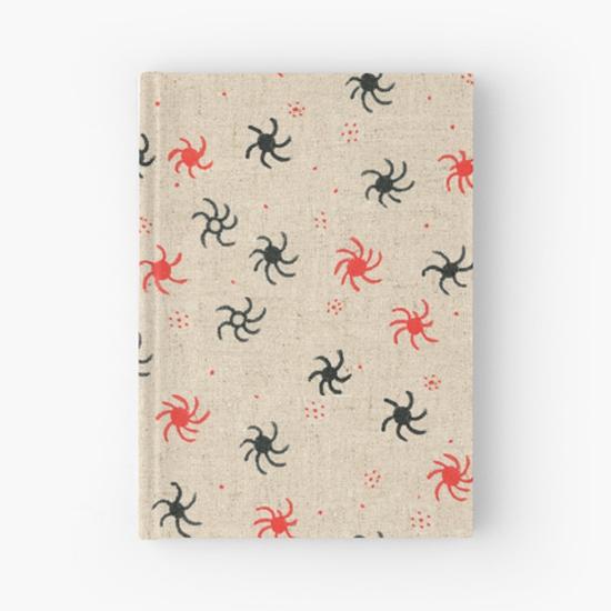 pinwheel hardcover journal