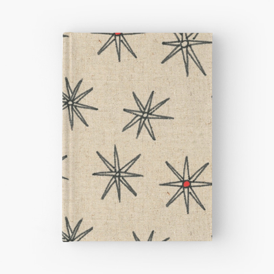 red dot hardcover journal