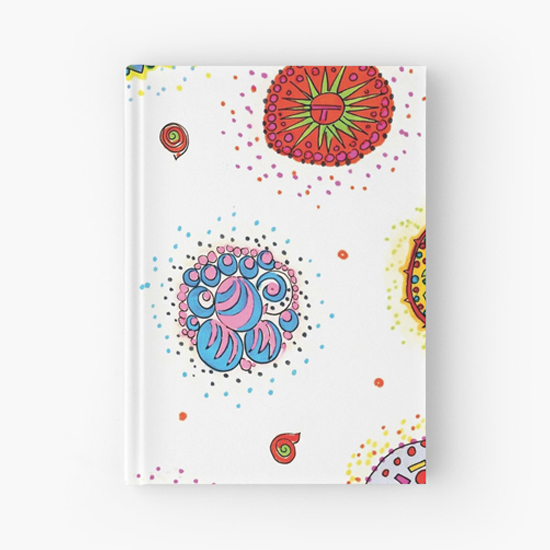 seventh star hardcover journal