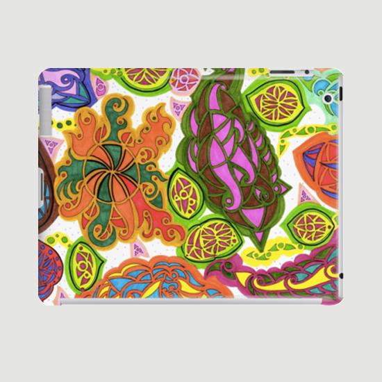 aubergine ipad case