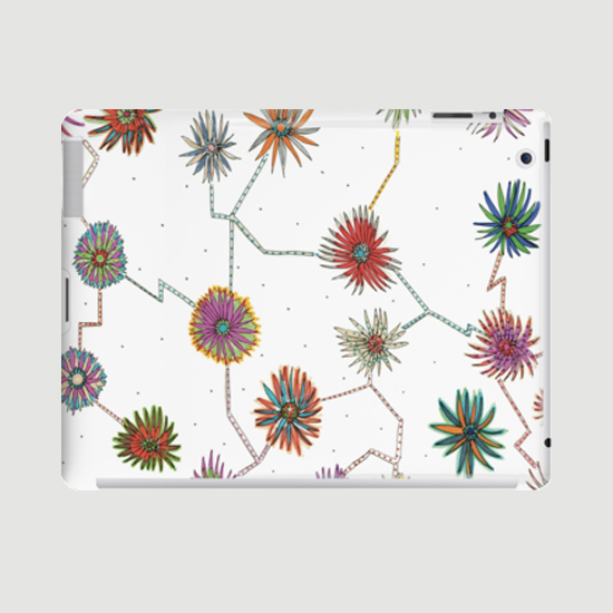 travelling daisy ipad case