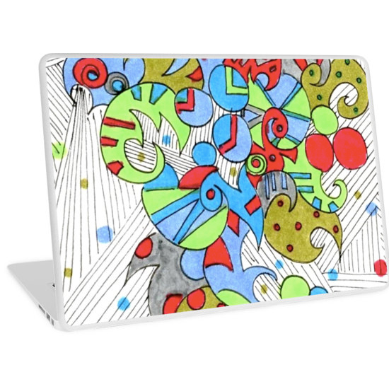 barcelonetta laptop skin