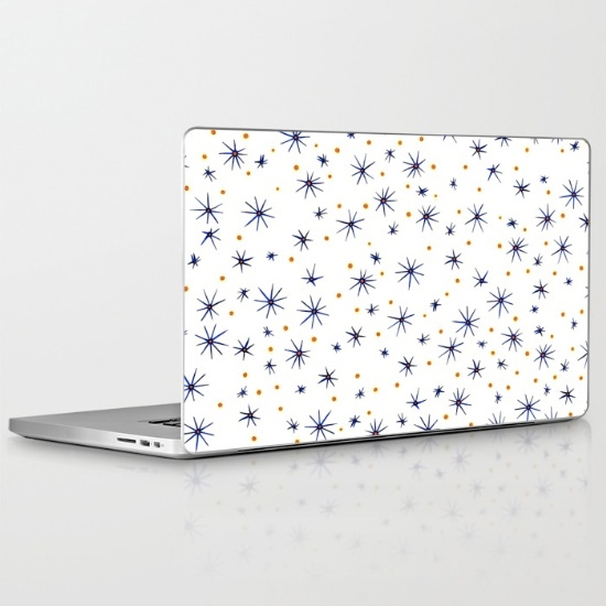 blue mattisse laptop skin