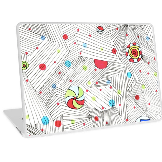 cathedral laptop skin