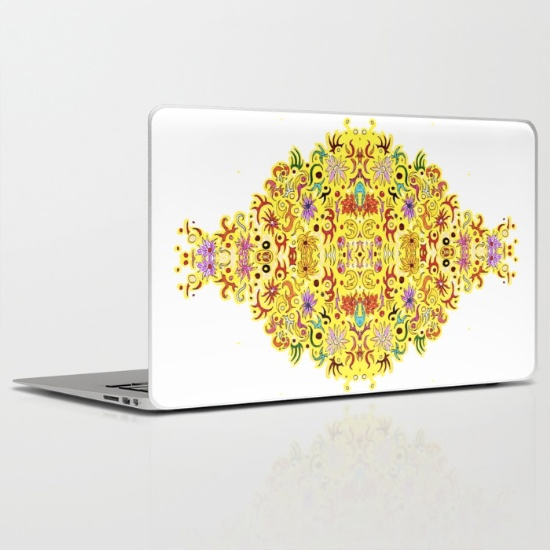 celebration laptop skin