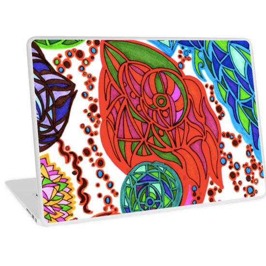 gaudi in january laptop skin