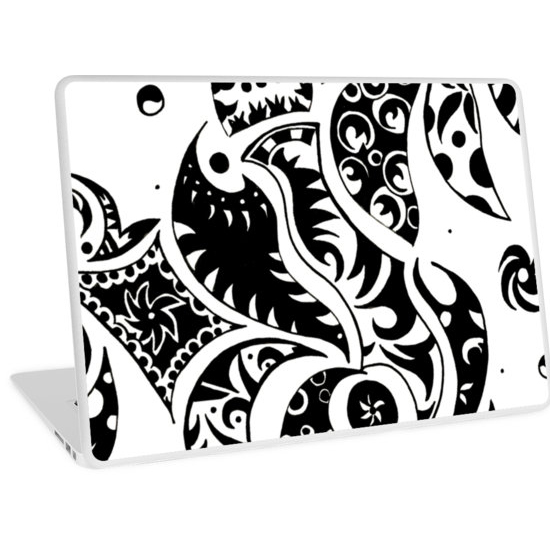 les friezes laptop skin