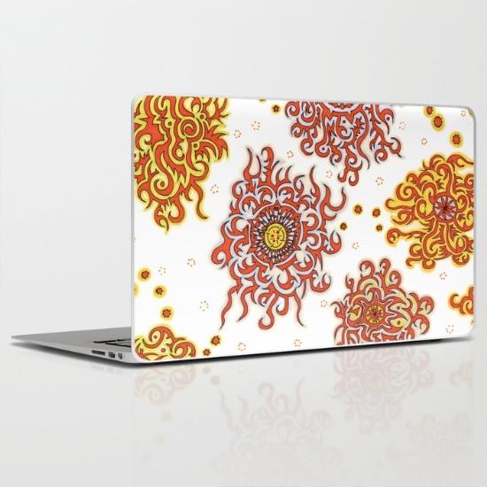 nairobi laptop skin