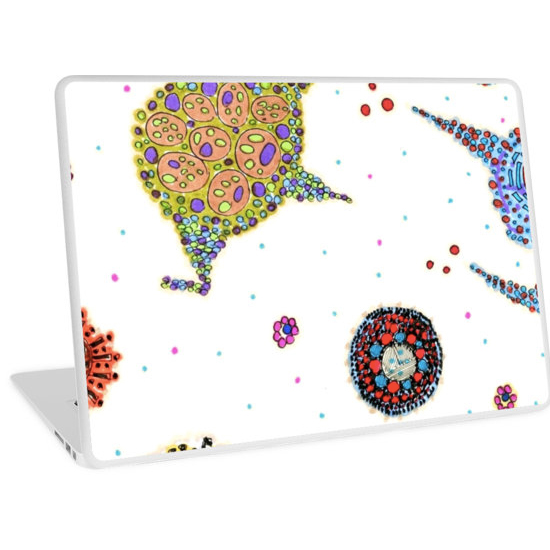 rozu laptop skin