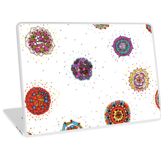 snap dragon laptop skin