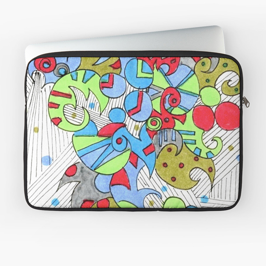 barcelonetta laptop sleeve