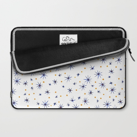 blue mattisse laptop sleeve